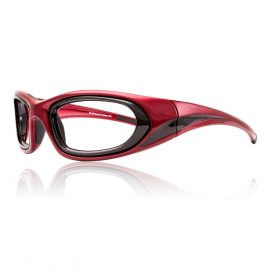 Circuit Radiation Glasses - Red
